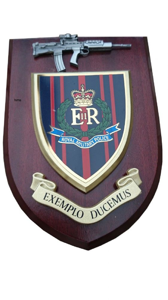 Rmp Royal Military Police Exemplo Ducemus Military Wall